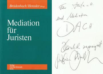 Mediation für Juristen